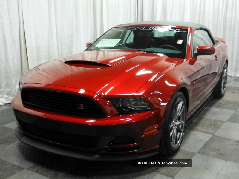 2014 ford mustang v6 roush rs convertible. Black Bedroom Furniture Sets. Home Design Ideas