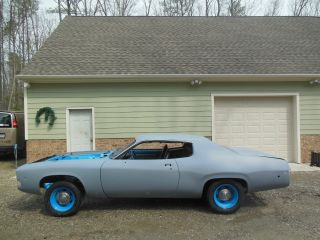 1973 Petty Blue 4 Speed Road Runner photo