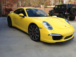 2012 Porsche 911 Carrera S Coupe 2 - Door 3.  8l Body Style photo