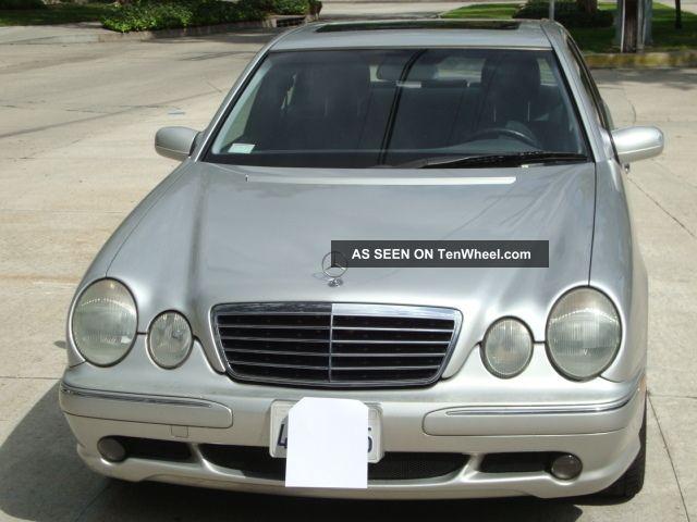 2002 Mercedes Benz E430 Base Sedan 4 Door 4 3l