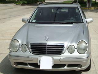2002 Mercedes - Benz E430 Base Sedan 4 - Door 4.  3l photo
