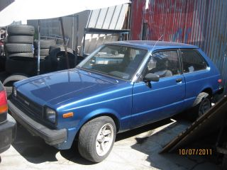 1981 Toyota Starlet Liftback 2d photo