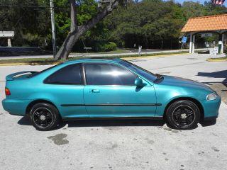 1993 Honda Civic Ex Coupe 2 - Door 1.  6l photo