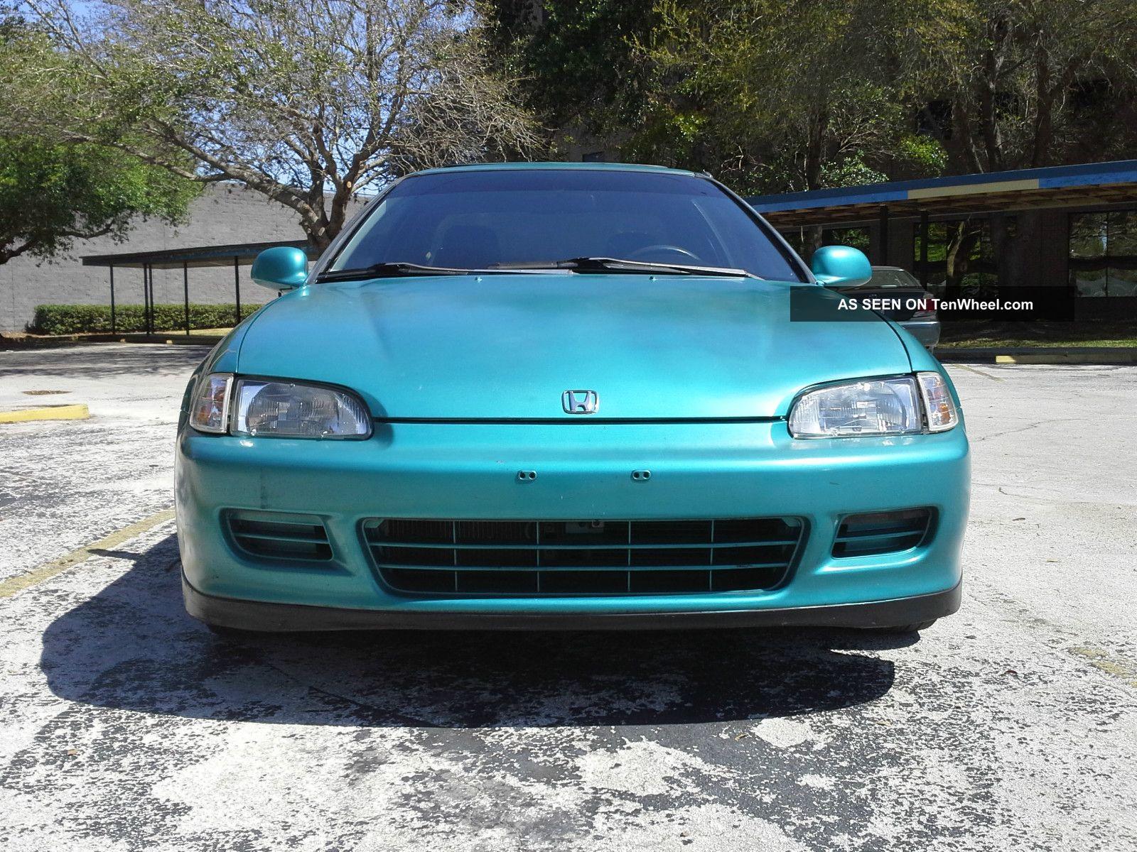 1993 Honda Civic Ex Coupe 2