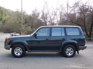 1997 Toyota Land Cruiser Base Sport Utility 4 - Door 4.  5l,  Two Owner, photo