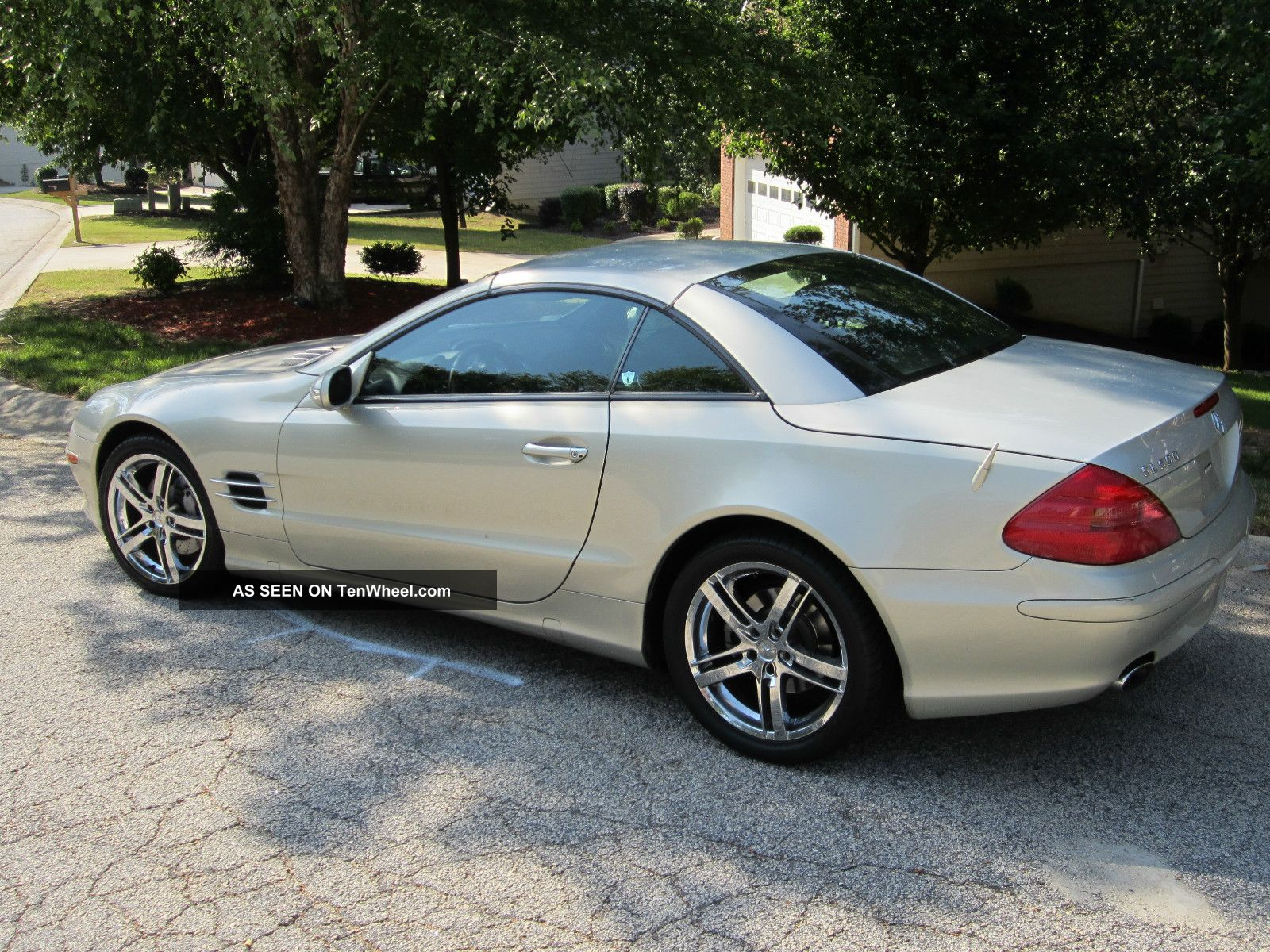 2003 mercedes benz sl500 designo edition convertible ready for spring. Black Bedroom Furniture Sets. Home Design Ideas