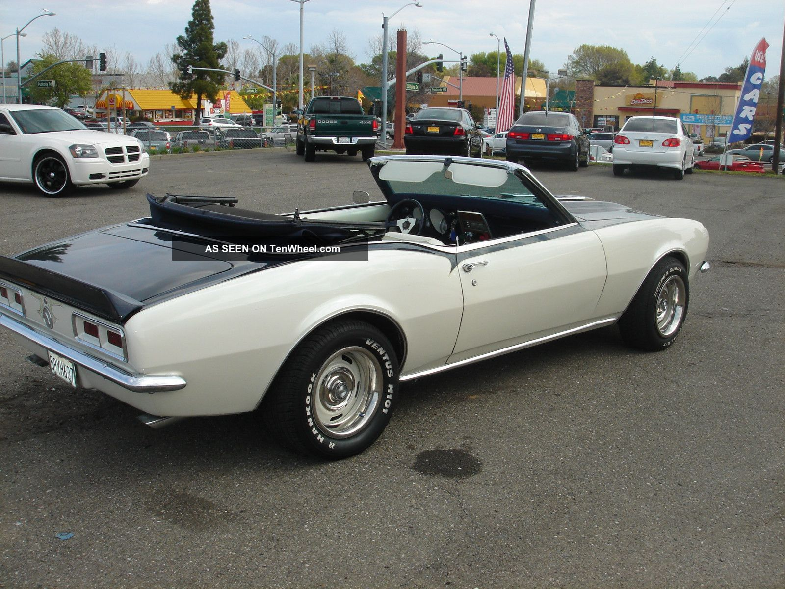 1968 chevy camaro convertible daily driver 350 v8 automatic. Cars Review. Best American Auto & Cars Review