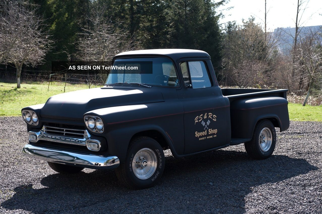Rare 1958 Chevy Pu Old School Hot Rod Sbc 4sp Other Pickups photo