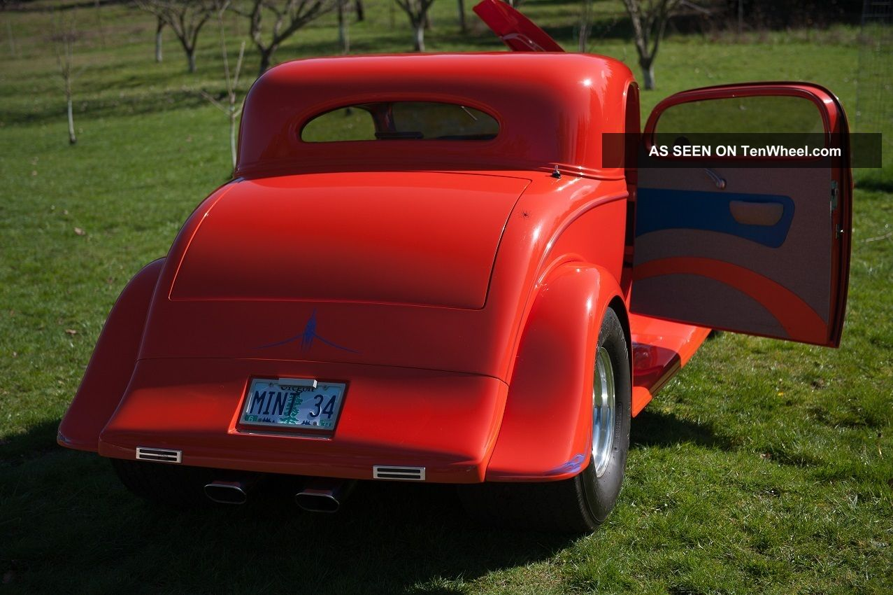 Street Rod Fuel Pump : Chevy coupe pro street rod hot blown