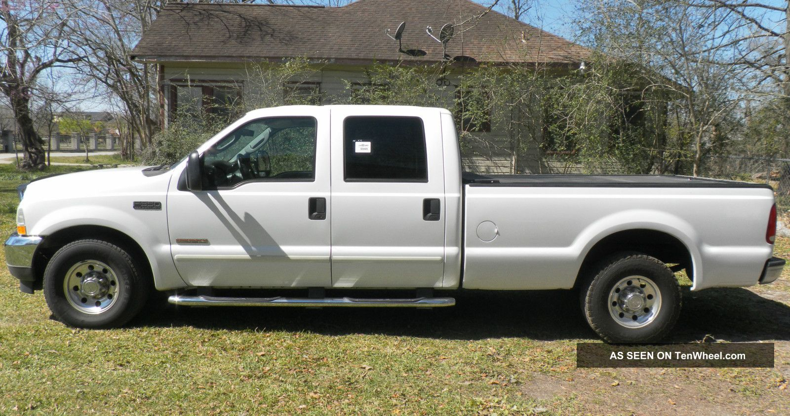 2003 ford f 350 duty xlt crew cab turbo deisel 6 0l. Black Bedroom Furniture Sets. Home Design Ideas