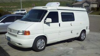 2003 Volkswagen Eurovan Mv Van Pop - Top Camper 3 - Door 2.  8l By Winnebago & Vw photo