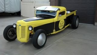 1938 Chevy Truck Rat Rod Hot Rod Gasser Custom Big Block photo