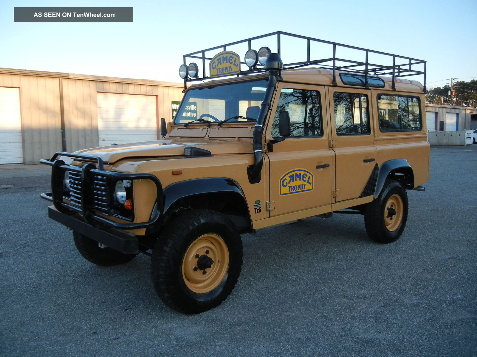 1987 Frame Off Rebuilt Defender 110 Tdi With Galvanized Chassis And 300tdi Defender photo