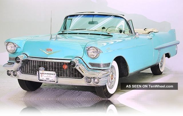 Rare 1957 Cadillac Series 62 Convertible Concours D ' Elegance Car Other photo