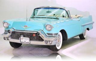 Rare 1957 Cadillac Series 62 Convertible Concours D ' Elegance Car photo