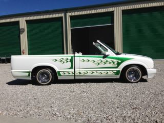 Chevy S Mini Lowrider Convertible Old School Custom Thumb Lgw on 1998 Chevy S10 Ext 4x4 Red