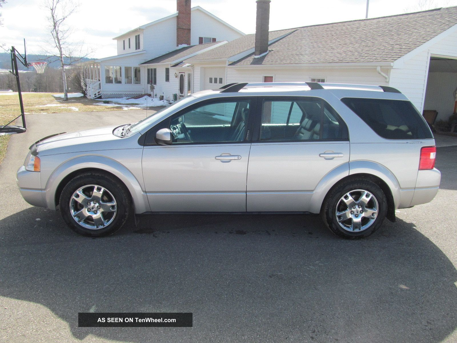 2006 Ford Freestyle Limited Awd Tires And Wheels