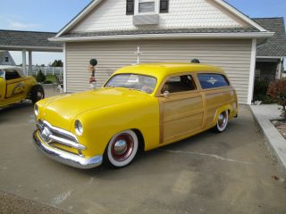 1949 Ford Woody Wagon Resto - Rod Cold A / Cframe - Off Restoration Hot - Rod (all -) photo