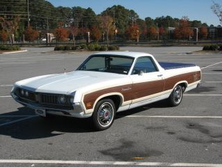 1971 Ford Ranchero Country Squire 5.  8l photo