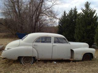 1947 Cadillac Model 4d Ht47 Project Car photo