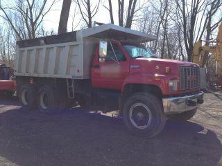 1996 Gmc Topkick Dump Truck photo