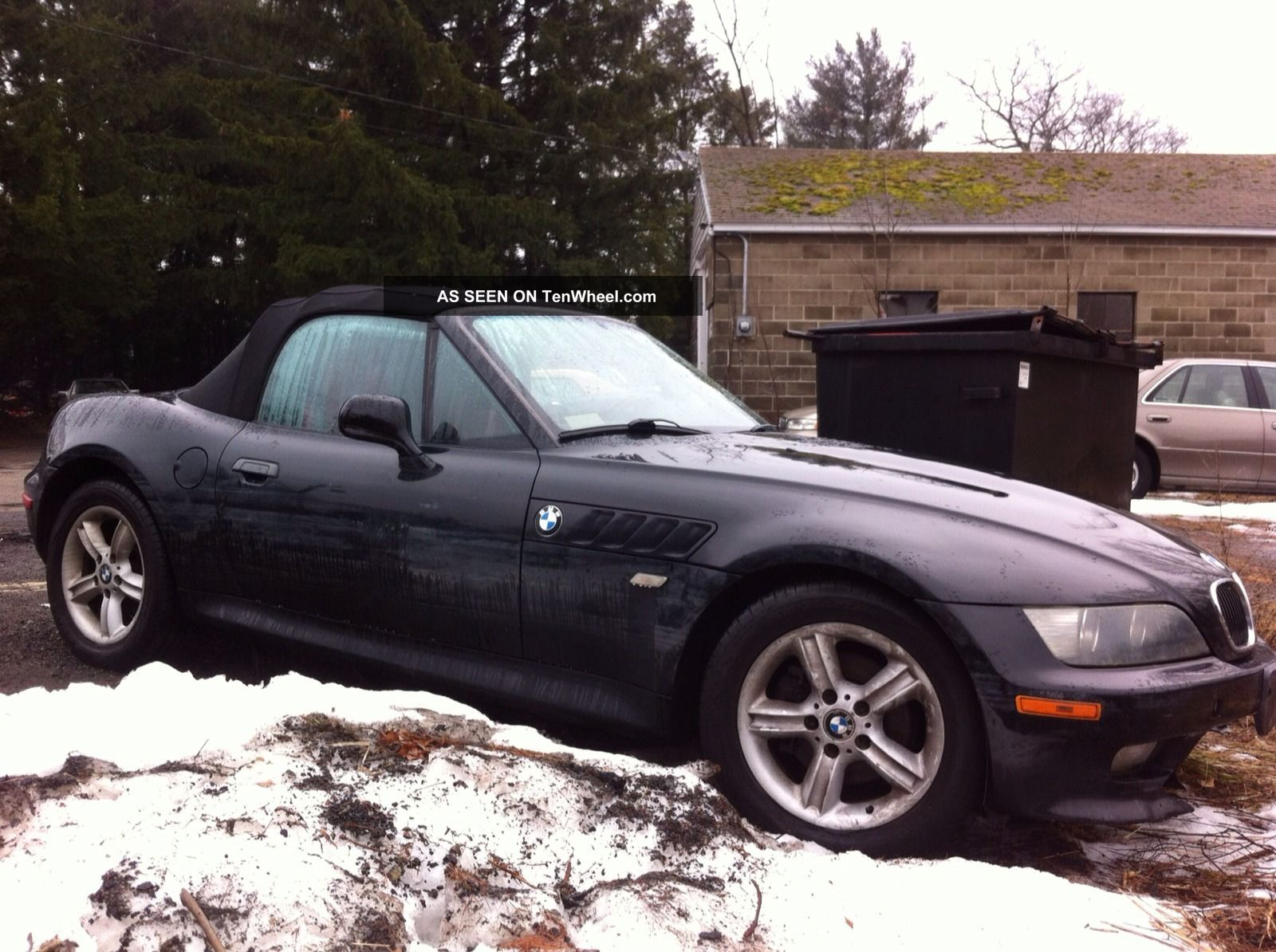 2002 Bmw Z3 Convertible 2 5i Rebuildable