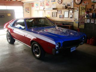 1969 Amc Amx Show Car,  Classic Vintage Muscle photo