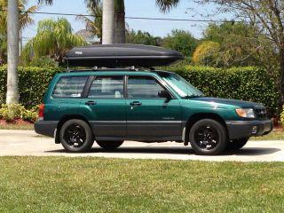 2000 Subaru Forester L Wagon 4 - Door 2.  5l photo