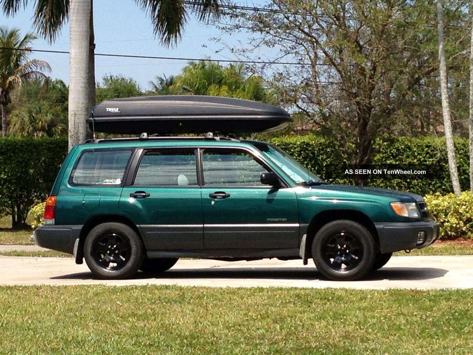 Subaru Forester L Wagon Door L Lgw on 2000 Hyundai Elantra Black