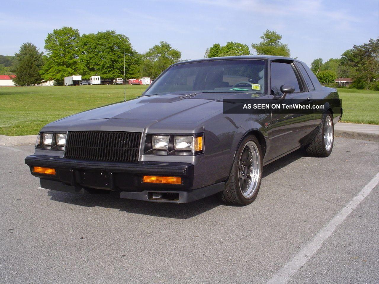 1986 Buick Regal Gray T Type Turbo Coupe Hot Rod 500+ Hp,  603 Rw Torque Regal photo
