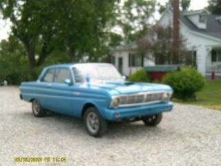 1965 Ford Falcon 2 Dr Sedan Classic Rat Rod Gasser photo