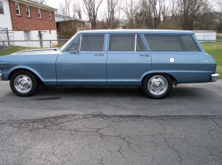 1965 Chevy Ii Nova Station Wagon photo