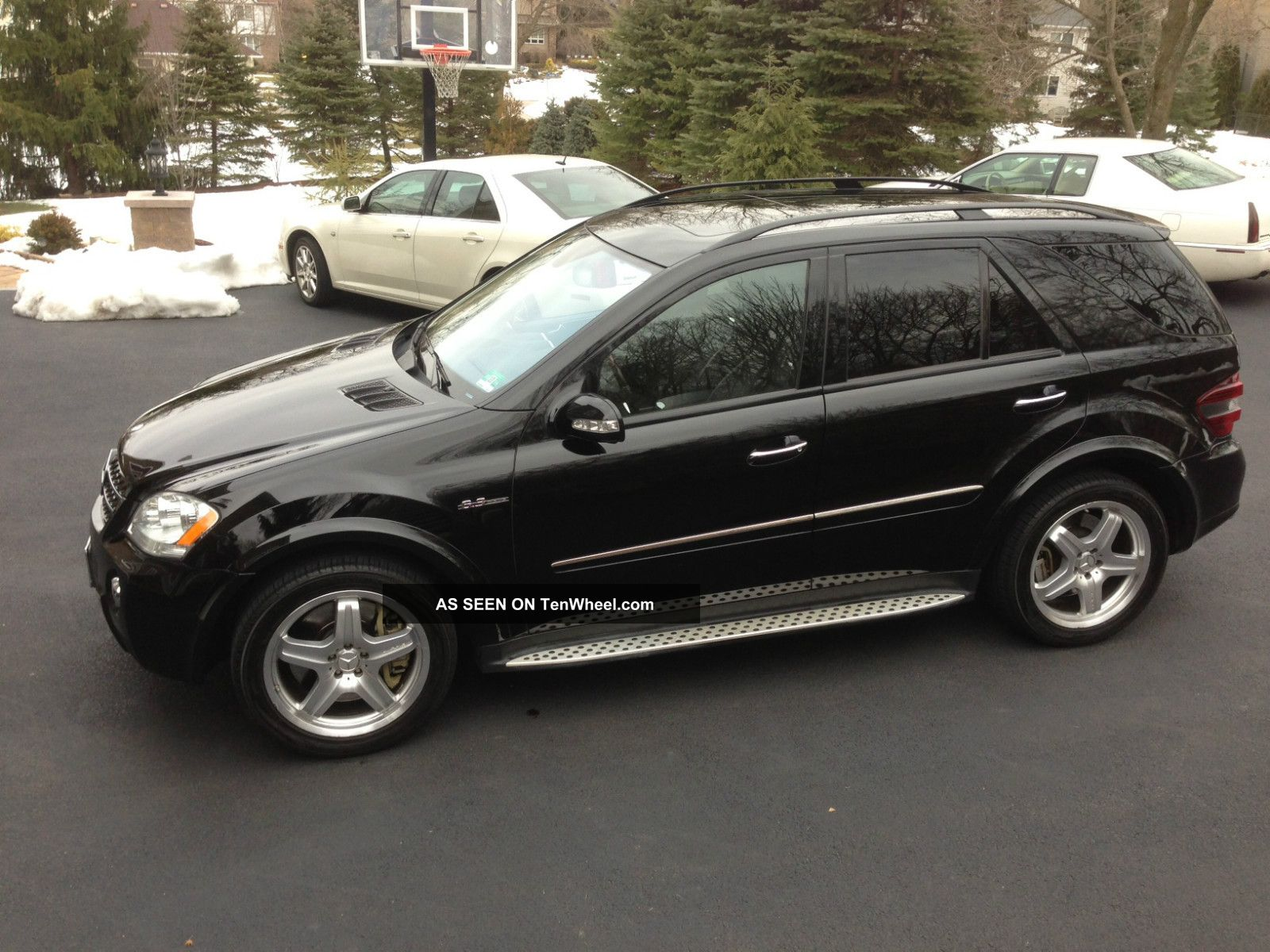 2008 mercedes benz ml63 amg ml550 srt8 x5 range q7