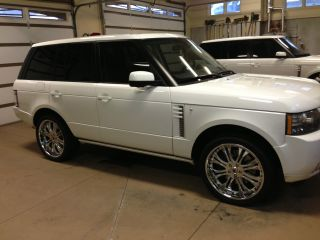 2011 Land Rover Range Rover Supercharged Sport Utility 4 - Door 5.  0l photo
