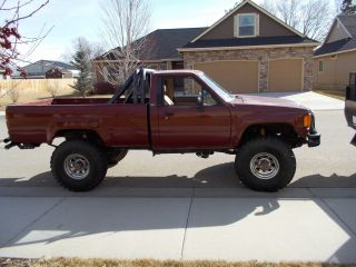 1984 Toyota 4x4 Rock Climber Articulating Reg Cab Pickup photo