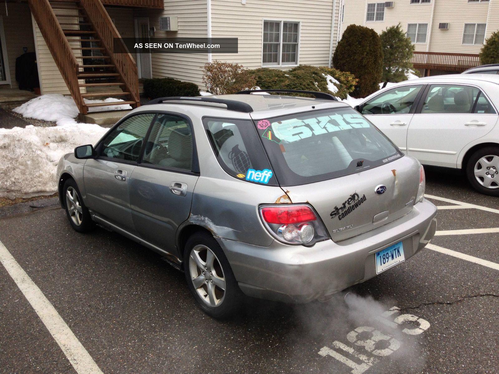 2006 Subaru Impreza 2 5i Wagon 4 Door 2 5l