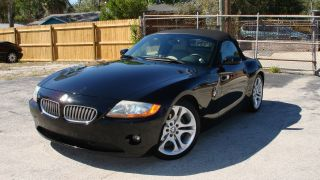 2004 Bmw Z4 3.  0i Convertible 2 - Door 3.  0l - 6 - Speed Manual photo