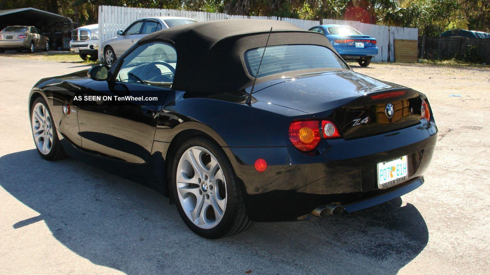 2004 Bmw Z4 3 0i Convertible 2 Door 3 0l 6 Speed