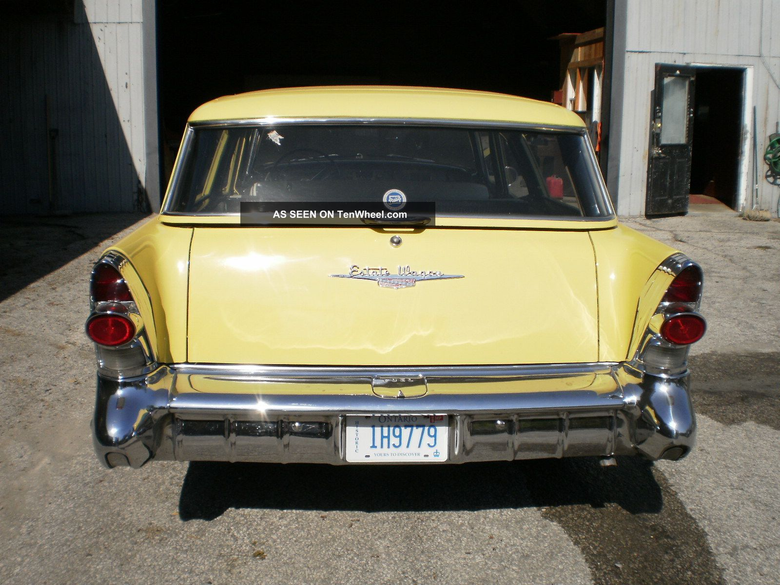 Outstanding 1957 Buick Estate Wagon Just Like When It Was