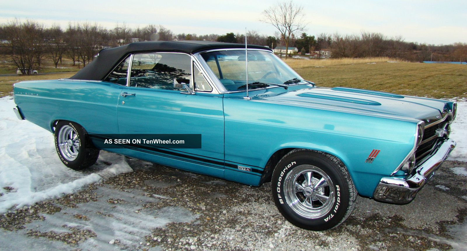 1967 Ford Fairlane Gta Convertible With Pro Built 427 Side Oiler Alfa Romeo Spider Fuel Diagram 2x4 Holleys