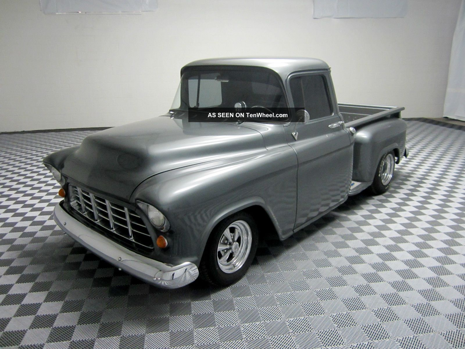 1955 Chevy Custom Steet Rod Pickup Truck Frame Off Restoration V8 Many Upgrades Other Pickups photo
