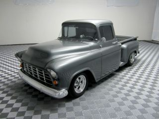 1955 Chevy Custom Steet Rod Pickup Truck Frame Off Restoration V8 Many Upgrades photo