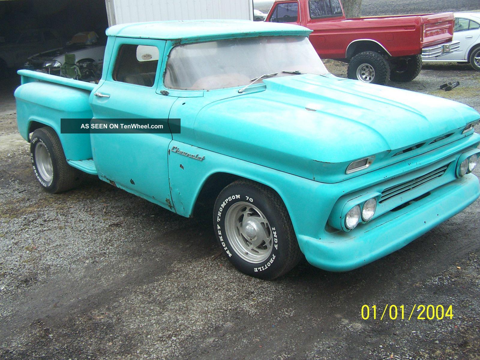 Vintage 1960 Chevrolet Pickup Truck Make A Good Rat Rod Other Pickups photo