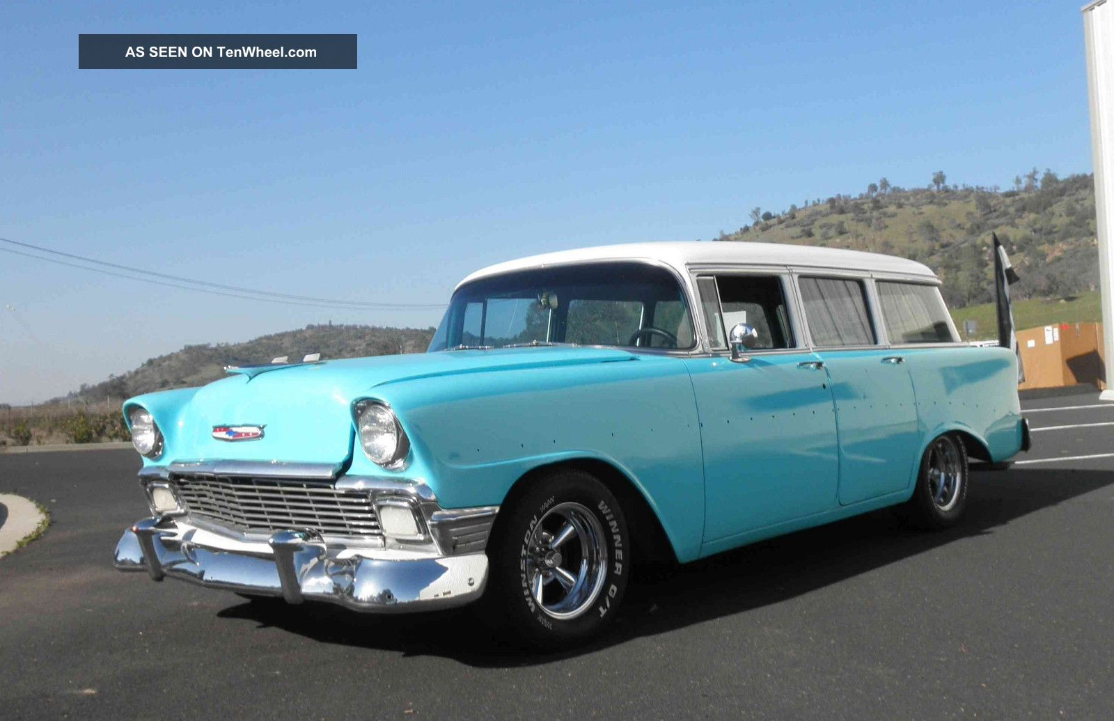 1956 Chevy 210 4 - Door Station Wagon Bel Air/150/210 photo