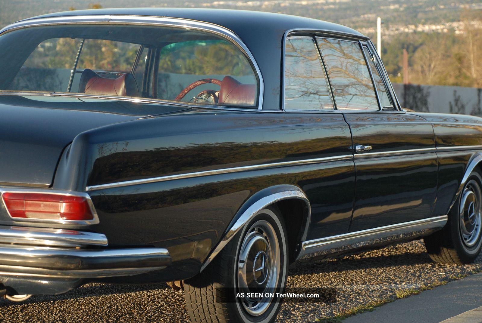 1967 mercedes benz 280 se coupe stunningly. Black Bedroom Furniture Sets. Home Design Ideas