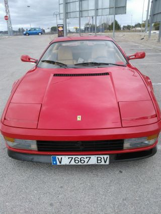 Ferrari Testarossa 1986 photo