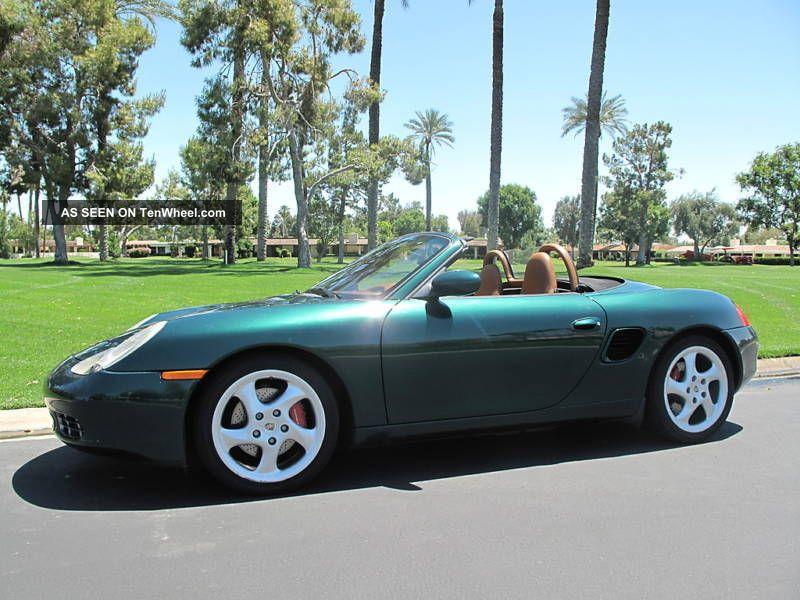 2000 Porsche Boxster Roadster S Convertible 2 Door 3 2l