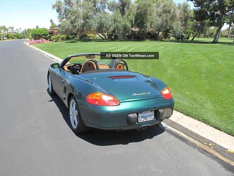 2000 Porsche Boxster Roadster S Convertible 2 Door 3 2l
