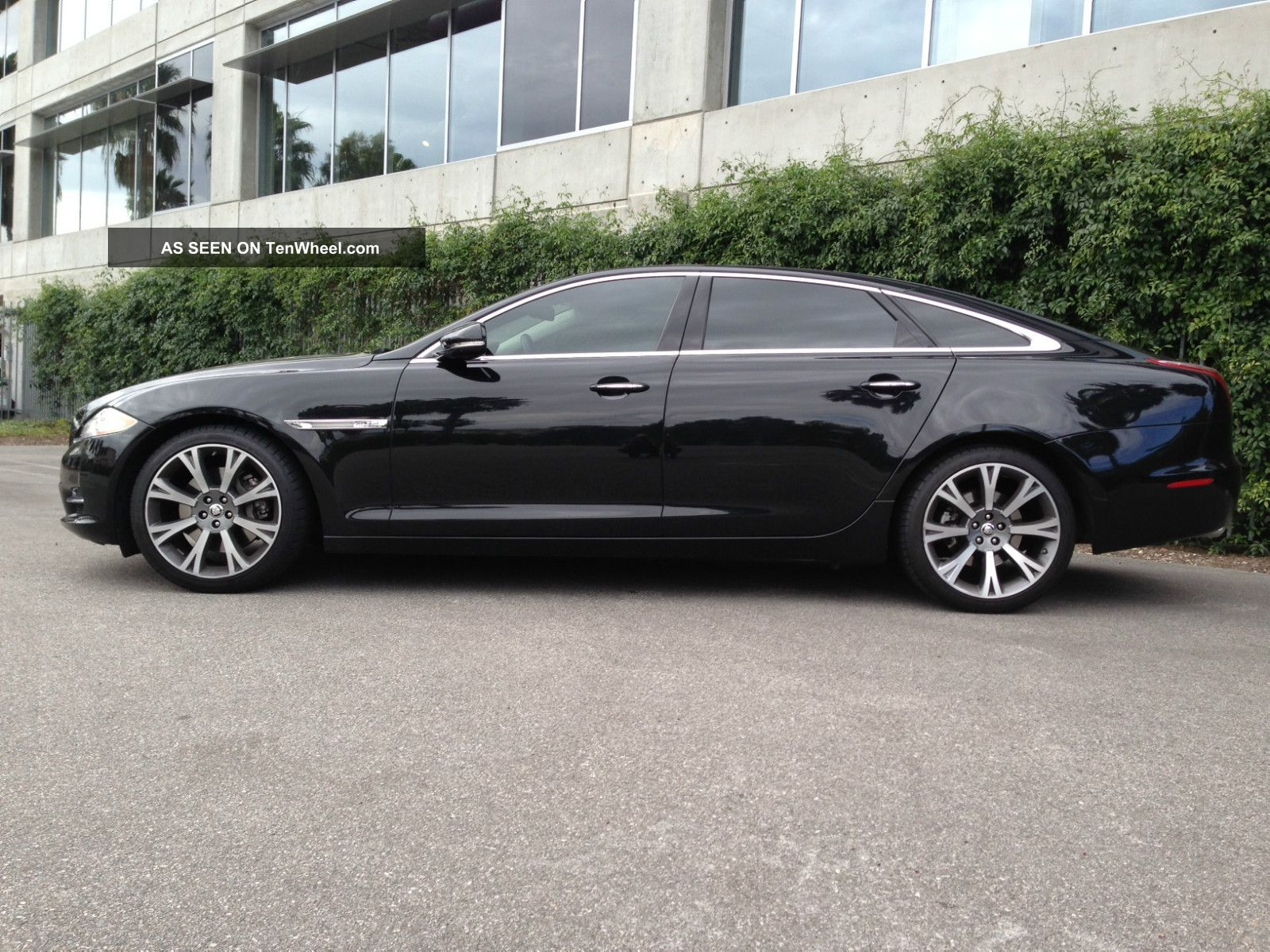 2011 Jaguar Xjl Black Black B Amp W Sound 20 Quot Wheels