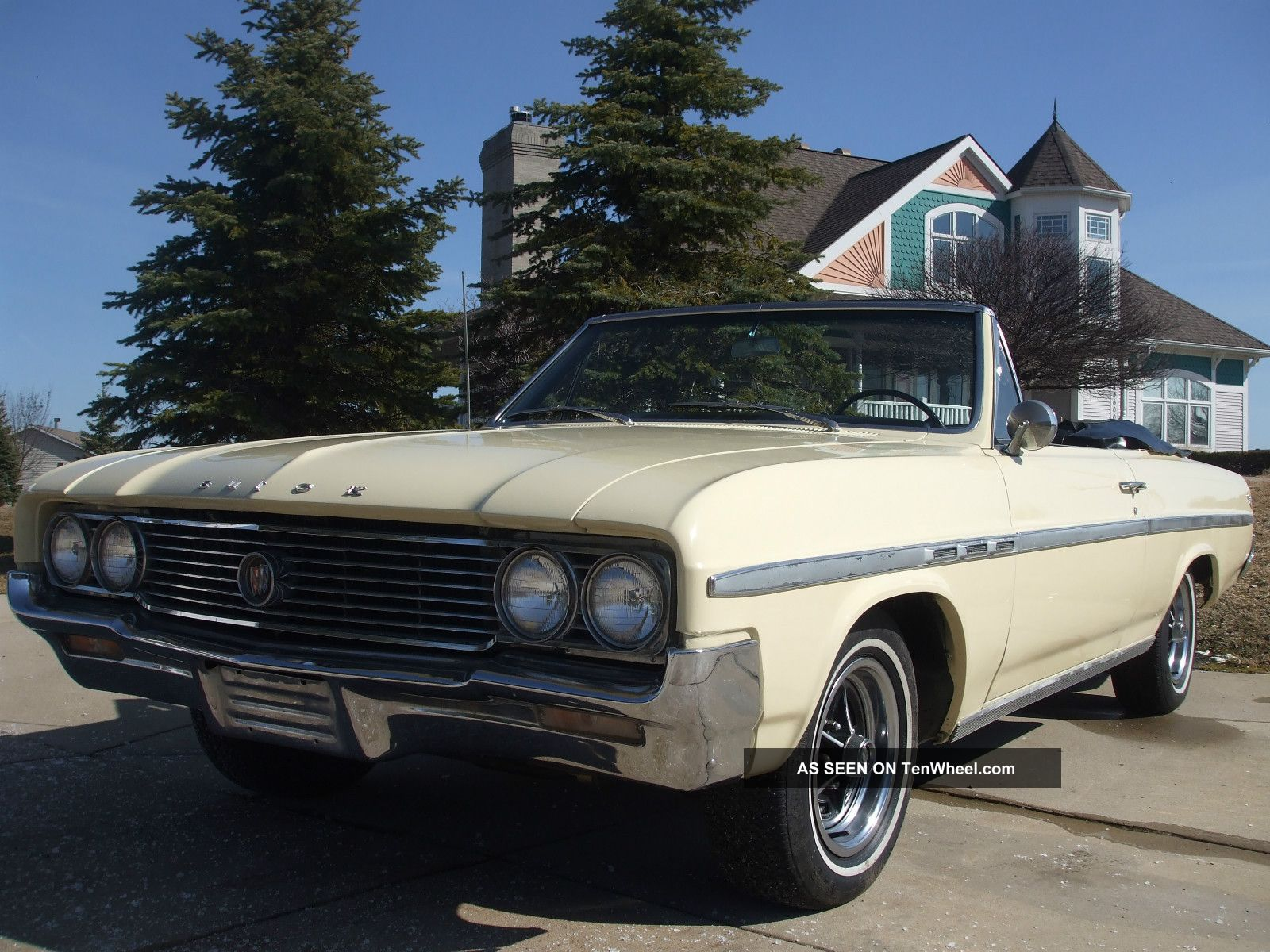 1964 Buick 2dr Skylark Convertible In And Out Rare 300 - V8 Numbers Matching Skylark photo
